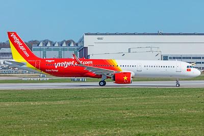 VietJetAir Airbus A321-271N VN-A600 4-1-19