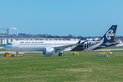 Air New Zealand Airbus A321-271NX ZK-NNE D-AVZF 4-1-19