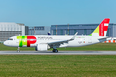 TAP - Air Portugal Airbus A320-251N D-AUBJ 4-1-19