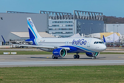 IndiGo Airbus A320-271N VT-IZU D-AUBK 4-1-19