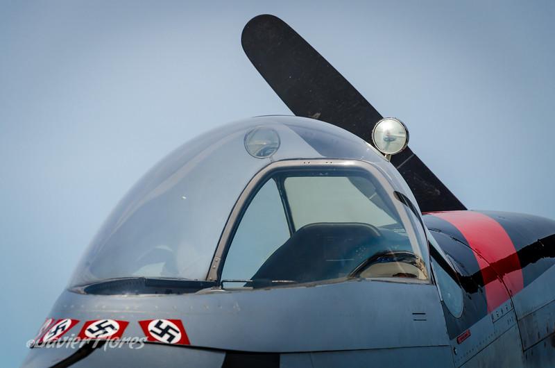 P-51 Mustang Cockpit