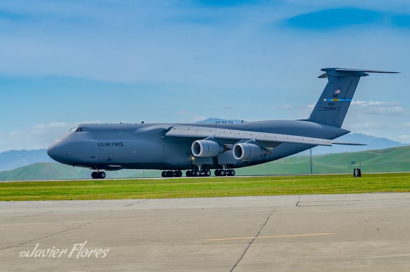 C-5 Galaxy on runway