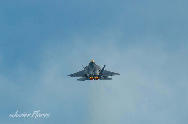 F-22 Rapter After Burners
