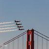 Blue Angels and GG Bridge