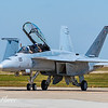 F18 Super Hornet on runway