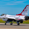 F16 Thunderbird ready for flight demo