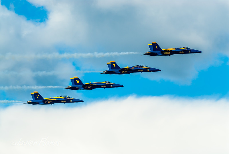 Formation of Blue Angels