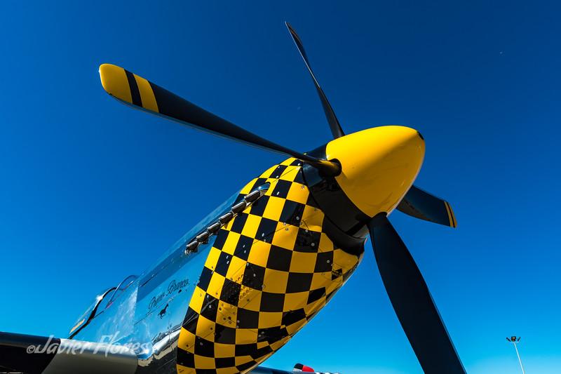 Detail P-51 Mustang
