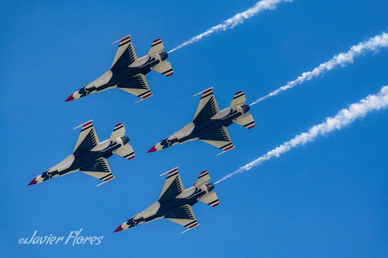 Thunderbirds Diamond Formation