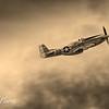 P-51 Mustang Sepia