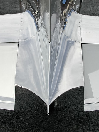 Tail Detail of Hughes Racer
