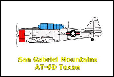 San Gabriel Mountains  AT-6D 1/11/13