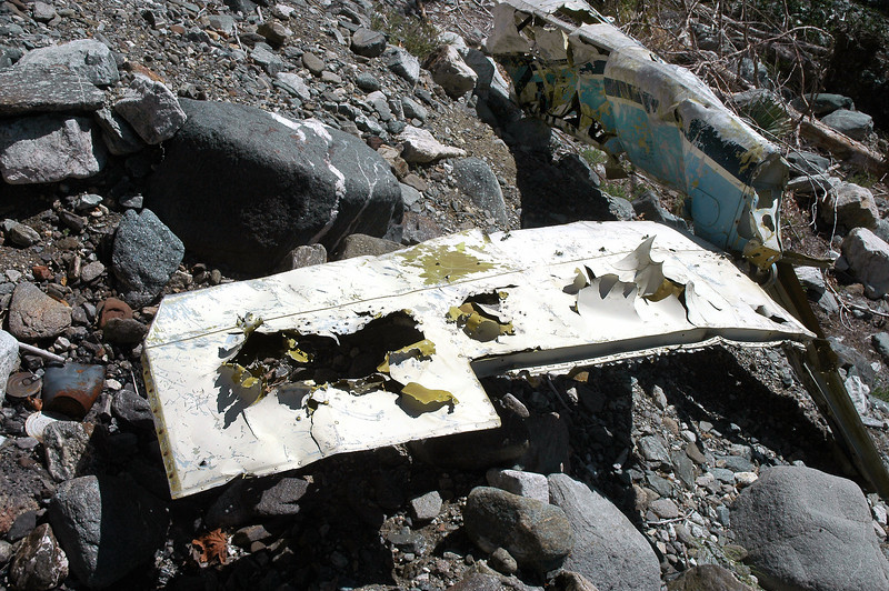 The tailplane had a few shotgun holes and the trim tab was missing.