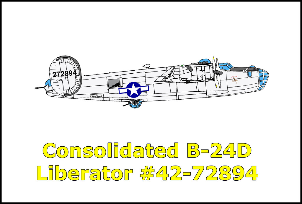 On 4/7/44 the B-24D Liberator #42-72894 took off from the Tonopah Army Air Field on a nighttime cross country navigation flight. The take off was normal, but the airplane didn't climb out normally, never achieving more than 300 feet AGL. The airplane was heading for rising terrain when the pilots suddenly realized the danger. Both pilots apparently pulled up in a climbing turn an instant before the collision. The right vertical stabilizer struck the ground first indicating that the airplane was in a climbing turn prior to the crash. The bomber then crashed into the mountain exploding into flames scattering wreckage on both sides of a ridge. Killed in the accident were: 2Lt. John F. Lasek, pilot; 2Lt. Richard A. Wixon, co-pilot; 2Lt. George E. Tinker, navigator; Sgt. Harold E. Salasky, engineer; SSgt. Gerald W. Hutchinson, radio operator; Cpl. Todd S. Salerno, gunner; Sgt. Howard O. Mattice, gunner; Cpl. John Covarrubias, gunner.
