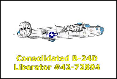 B-24D Liberator #42-72894 5-26-13