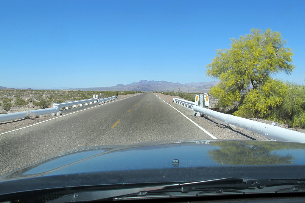 Heading home on Route 66. While at the site, keep thinking about the sad fact that the pilot had his son along with him on the flight. Being that it was July, he must have been off school for the summer and was tagging along with his dad while he was working. <br /> <br /> THE END