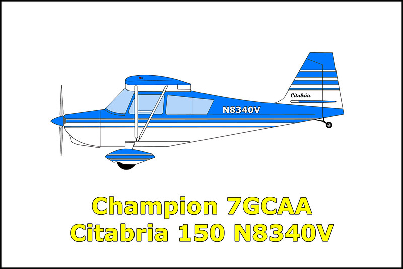 On 7/4/67 the Champion 7GCAA Citabria 150 N8340V took off from Bakersfield on a scheduled round trip flight to Needles and back. The purpose of the flight was to inspect a Pacific Gas and Electric Company pipeline. While flying at a low altitude, the airplane stalled and spun crashing and burning north of Route 66 near the small community of Amboy, California. Killed in the accident were pilot Harold Bassett and his 14 year old son Eldon.
