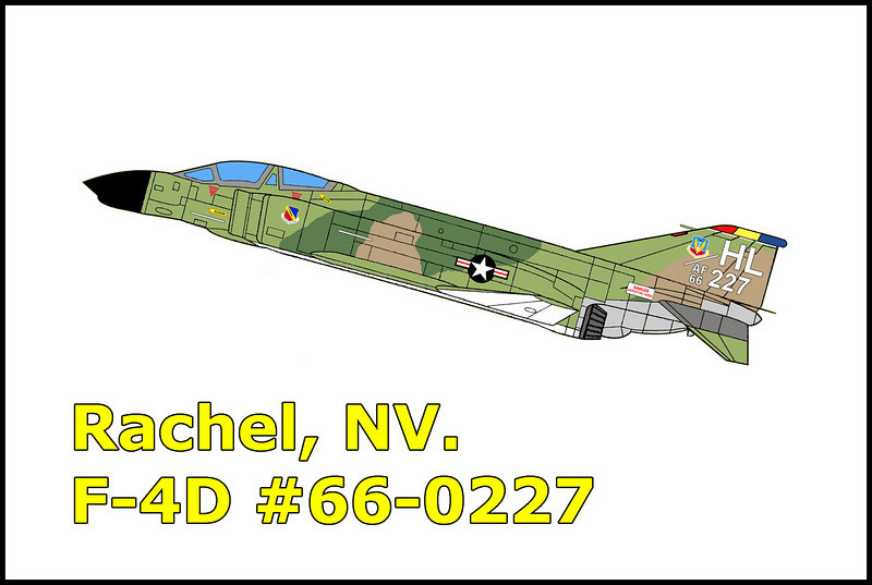On 3/7/79, a flight of six F-4Ds from the 4th Tactical Squadron, 388 Tactical Fighter Wing from Hill AFB, Utah, departed Nellis AFB, Nevada at 1:12pm as part of a Red Flag 79-4 interdiction mission. Call signs Pall 21 through 26 joined up following single ship take-offs for the flight to the Red Flag air refueling track in Caliente Military Operating Area. The mission was to ingress to the target area as two ship elements after refueling. Pall 21 and 22 (Pall 22 was the mishap aircraft) began their descent immediately after departing the air refueling track to start their low level ingress to the target. The weather was clear with 30 miles visibility. During the low level flight, the aircraft impacted the ground destroying the aircraft scattering wreckage for 2,700 feet and fatally injuring the pilot Robert F. Johnson and navigator Jay F. Hagen.