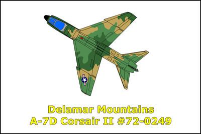 A-7D Corsar II #72-0249 10/14/15