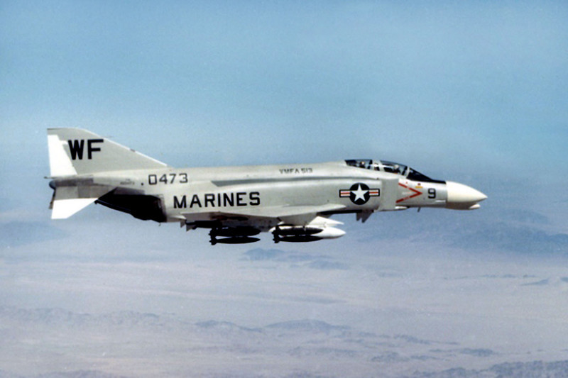Photo of the F-4B Phantom BuNo 150473.<br /> <br /> I finally received the crash report that I requested from the Navy about two months ago. Using that information, I was able to locate the F-4B's crash site.