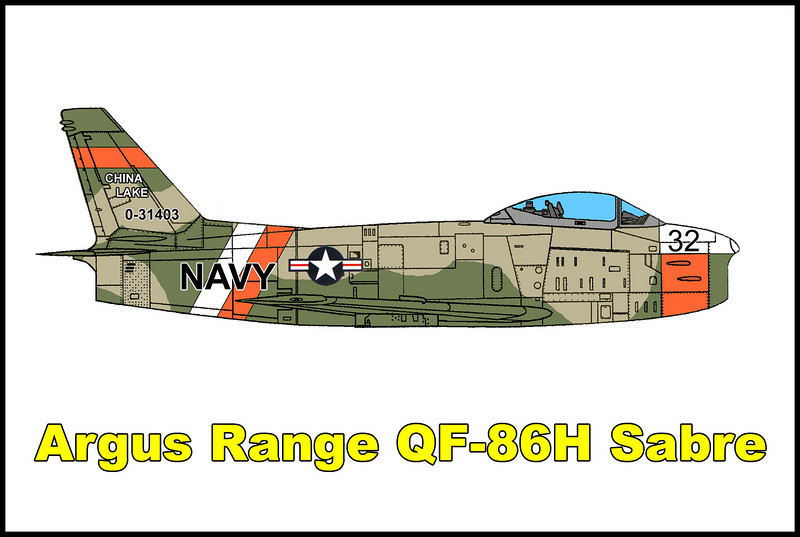 Don't have many details on the aircraft or the accident other than it's a North American F-86H Sabre and crashed sometime before 1986 in the Argus Range. There's a good chance that it's was a drone out of the China Lake Naval Weapons Center, but can't confirm it.<br /> <br /> Tom Gossett found the wreckage by accident in 1985 while on his way to a mesa that's above the Sabre's crash site.