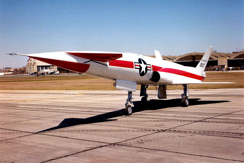 The X-10s were test aircraft for the Navaho cruise missile. This photo is of the North American X-10 #19307 at the National Museum of the USAF,  Dayton, Ohio. (U.S. Air Force photo)