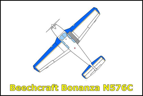 Beechcraft Bonanza N576C 8/18/13