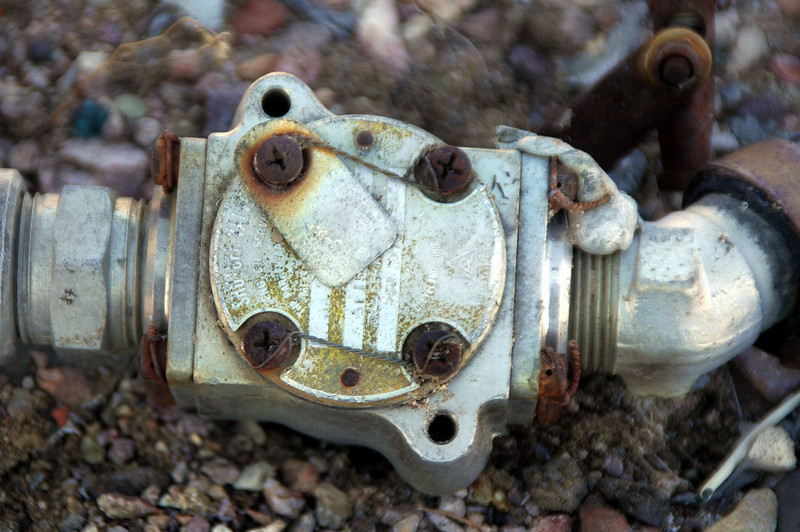 Another side of the valve.