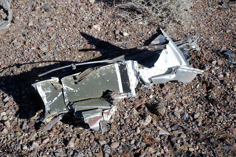 Piece of the fuselage.