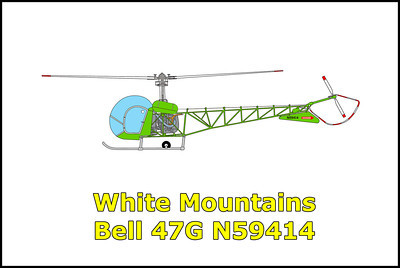 White Mountains Bell 47G N59414 6/15/12