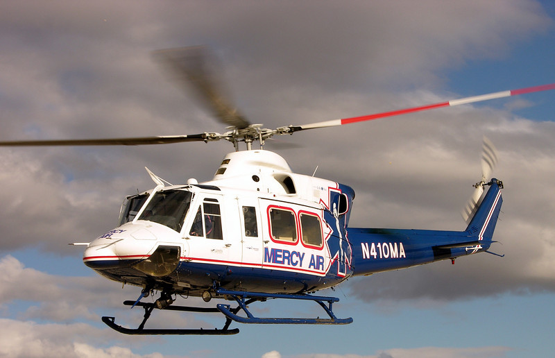 Photo of Bell 412SP N410MA Mercy Air2