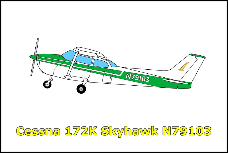 On 1/19/69 the Cessna 172K Skyhawk N79103 was on a delivery flight from Kansas to California when it crashed into the Piute Mountains west of Needles, California. The pilot was killed in the accident. The NTSB stated that the probable cause of accident was the pilot continued VFR flight into adverse weather conditions.