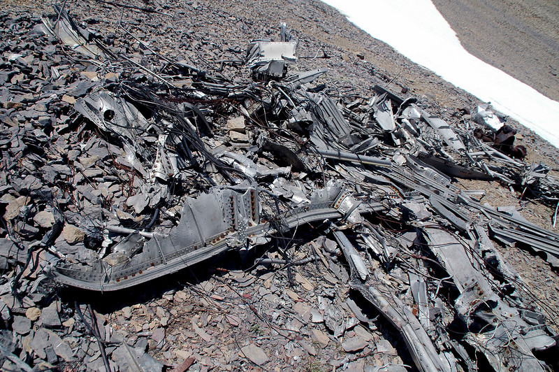 Most of this wreckage looks like it's from the wing.