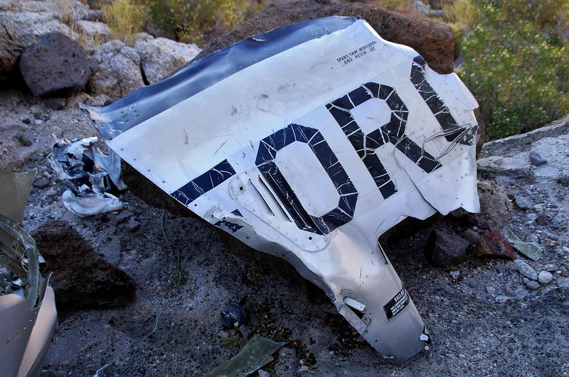 This was a great find. A piece of the fuselage with part of the AIR FORCE lettering.