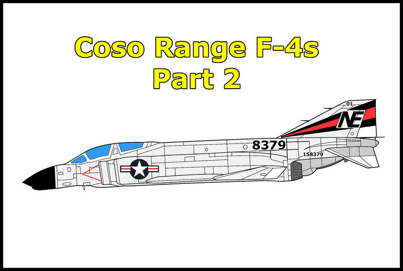Returned to the Coso Range to search for the second F-4 that was involved in the mid-air.