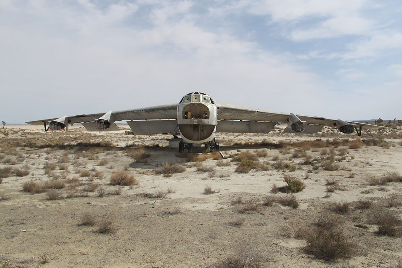 After a very short drive, we arrived at the site of two B-52s.