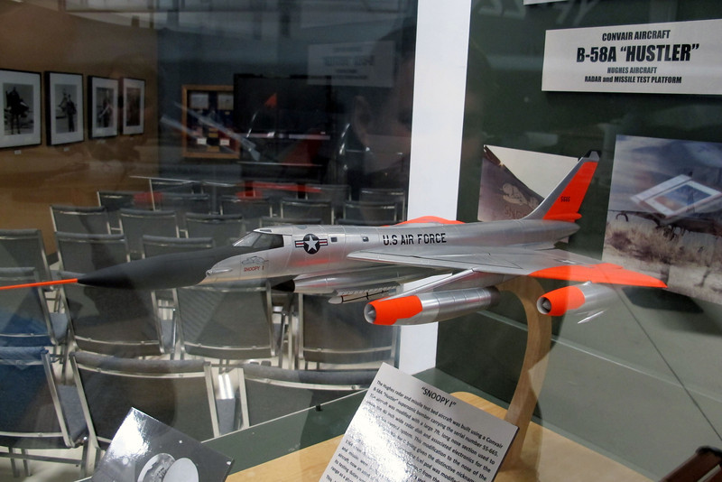 Model of the B-58A Hustler #55-0119 Snoopy 1. This is a great looking airplane, even with the long nose.