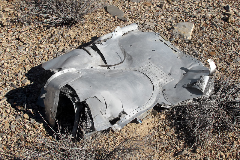 This is a fairly large piece about three feet across. Having that large fairing on it, I thought it would be easy to figure out what section of the plane this piece was from, but haven't be able to.