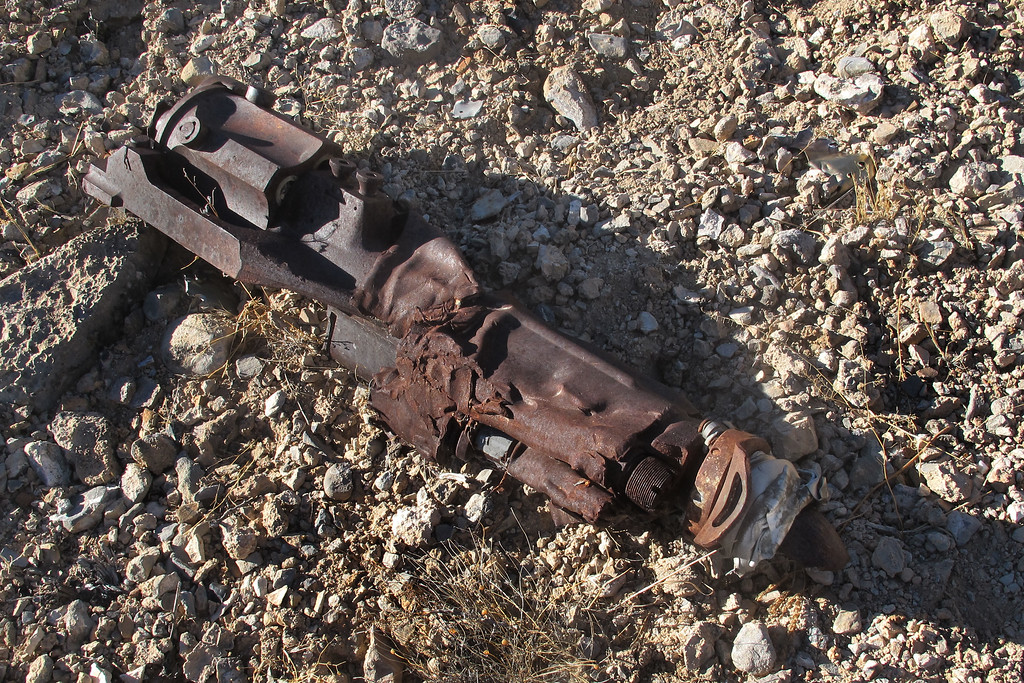 This was a nice find. A piece of one of the Pontiac M39A3 20mm revolving cannon.