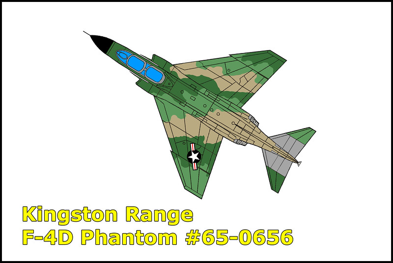 On 4/20/67, four F-4D Phantoms call signs Blondie 1, 2, 3 and 4 were on a Ground Attack Practice flight which consisted of simulated armed reconnaissance with a simulated attack on a stationary target. During the flight, Blondie 3 (#65-0656) made a simulated attack on a truck in an open area north of a mountain peak. Blondie 3 was observed in an approximate 45 degree dive in his attack. While in the drive recovery, the aircraft was seen making two complete rolls to the right and impacting the side of a mountain. Killed in the accident were the pilot 1Lt Donald H. Wolber and aircraft commander 1Lt Douglas B. Rose from the 476th Tactical Fighter Squadron, George AFB.
