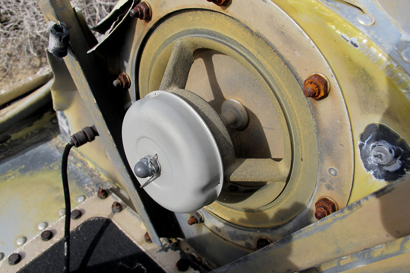Close up of the valve.