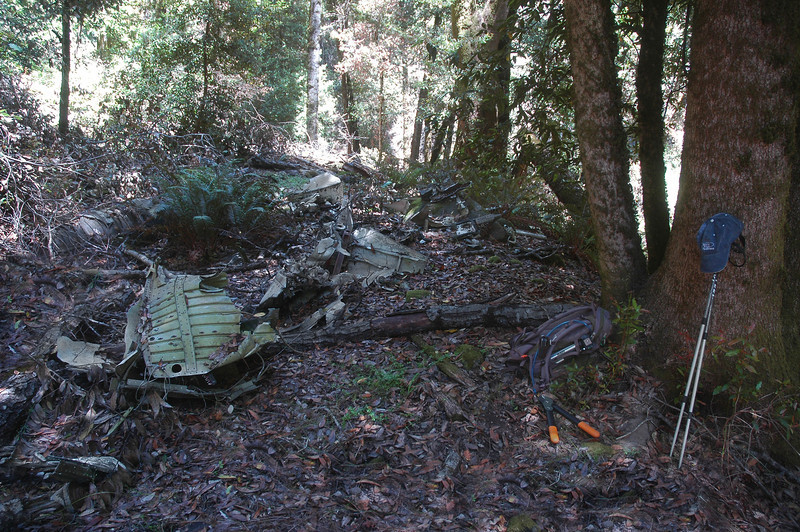 At the crash site. I missed it on the way down and ended up too far up the canyon. Followed the canyon down and came upon this wreckage.