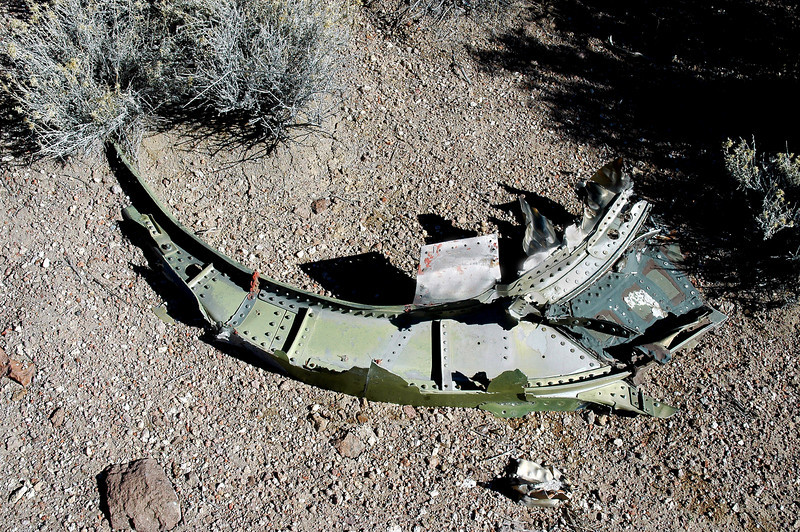 Another piece of a fuselage bulkhead.
