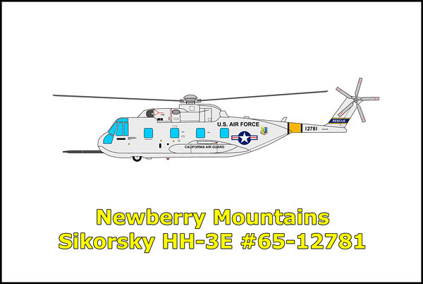 Newberry Mountains Sikorsky HH-3E #65-12781 11/30/12