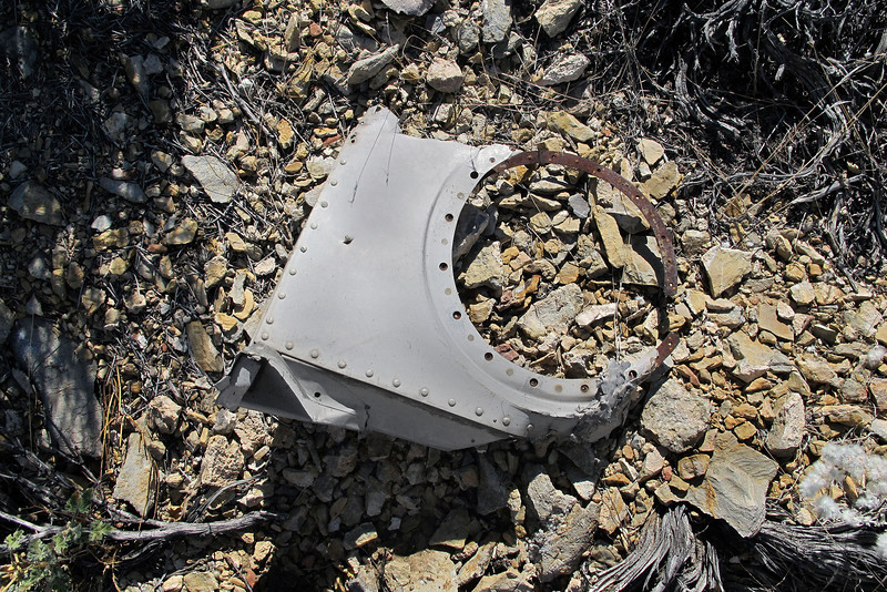 Better view of the same part. This is the remains of one of the landing light housings.