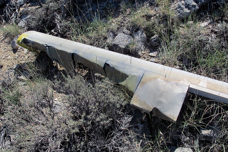 Another view of the same piece of rotor blade.