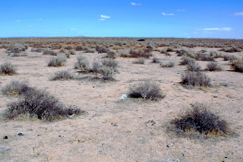 """Looking back at my truck, after two hours of searching the area. For a micro site, there is still a lot of interesting stuff out here.<br /> <br /> THE END<br /> <br /> Pilot's Story From """"The Ejection Site""""<br />  <a href=""""http://www.ejectionsite.com/yf104eject.htm"""">http://www.ejectionsite.com/yf104eject.htm</a>"""