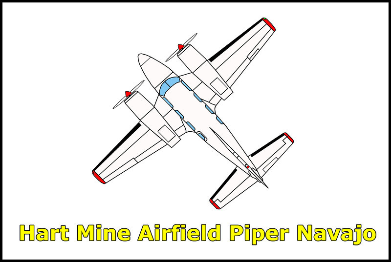 On 1/14/79, the pilot of the Piper PA-31 Navajo, N6567L attempted a nonstop flight from Kennewick, Washington to San Diego, California. The aircraft had insufficient fuel on board to complete the flight and crashed while attempting an emergency landing at sundown on the unlit dirt runway at the Hart Mine Airport near the California/Nevada border. The pilot and his two passengers survived the accident.