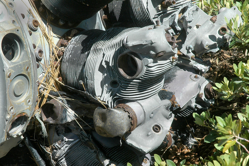 This head still had what I think is a section of the intake manifold on it.