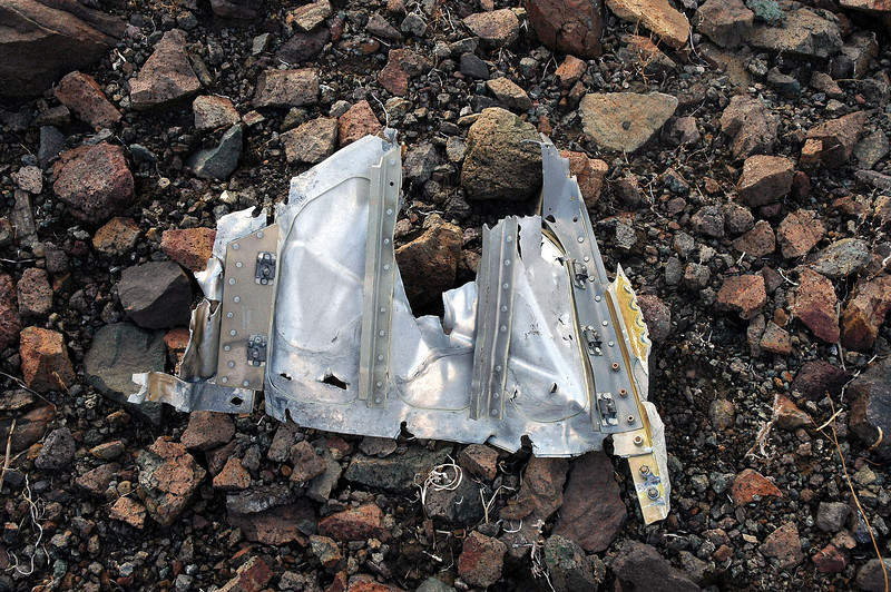 The first piece I found that I could confirm was from the KC-135A.